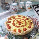 Torta salata con ricotta e verdure