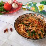 Spaghetti con Murici o lumache di mare