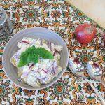 Insalata Mediterranea di patate e yogurt