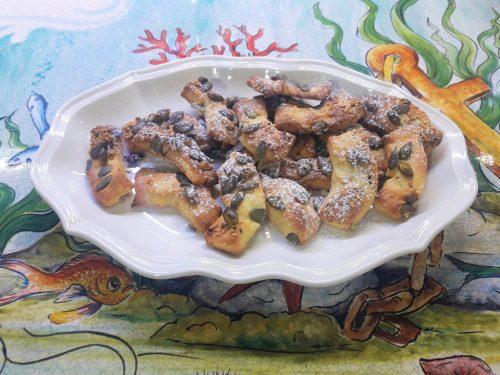 Biscotti di frolla ai semi di girasole