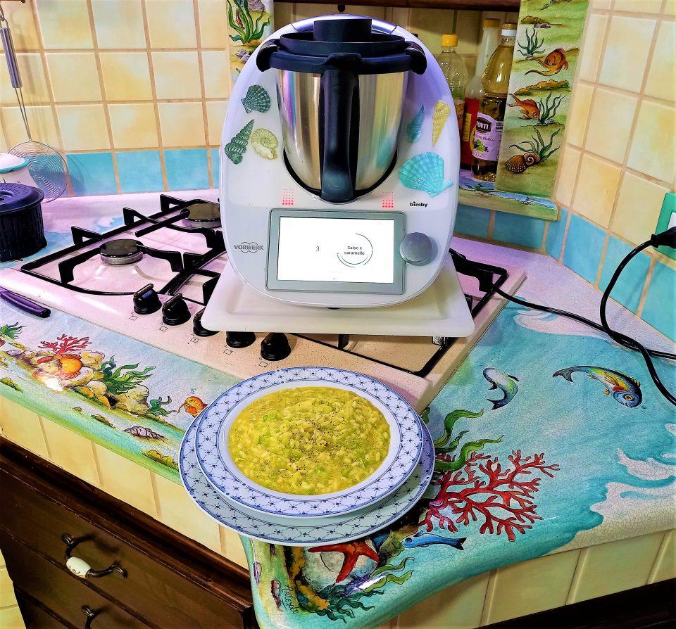 Riso con zucchine e curry per BimbyTM6