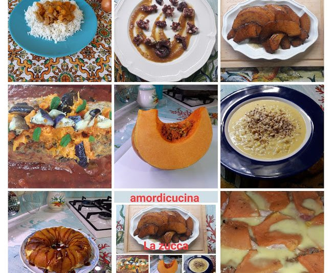 Tutte le ricette con la zucca di RitaAmordicucina