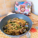 Spaghetti e vongole risottati alla siciliana