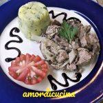 Sformatini di tonno e patate con agrodolce