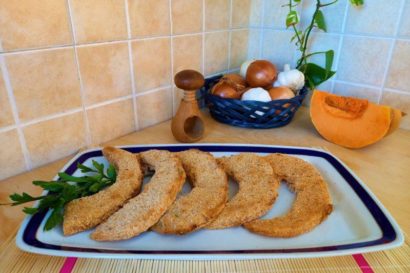 Zucca sabbiata fritta o al forno