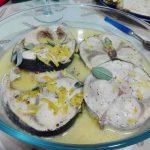 Pescespada al burro e limone per Bimby
