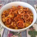 La calamarata alla Livornese ricetta della nonna