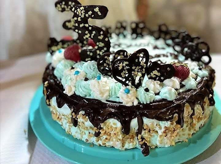 Torta gelato artigianale siciliana