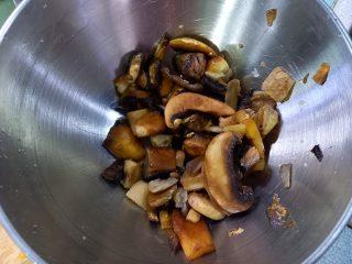 l'Arista di maiale con salsa ai funghi