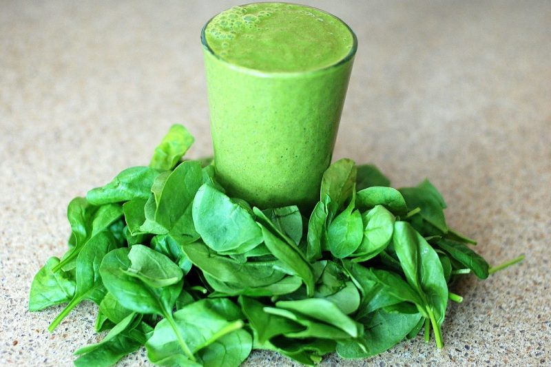 Smoothie detox  verde  antiossidante