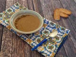 Vellutata di lenticchie siciliane di Villalba