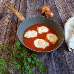 Uova in purgatorio tradizionale e con il Bimby