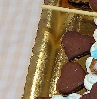 Number cake al cacao e cocco