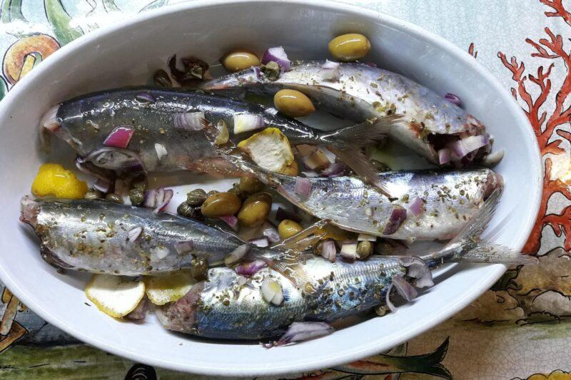 Pesce dai sapori del nostro Mediterraneo