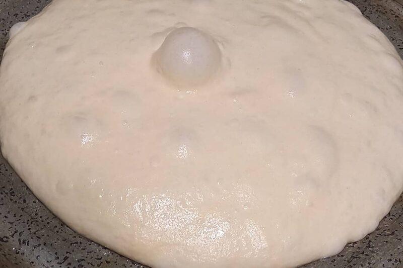 L'impasto per la pizza mille bolle