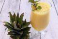 Lo Smoothie drenante con Gambo di ananas