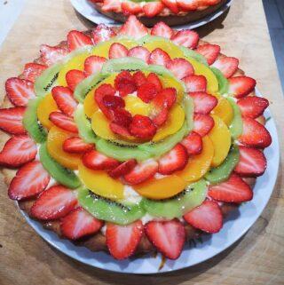 La crostata alla frutta con frolla light