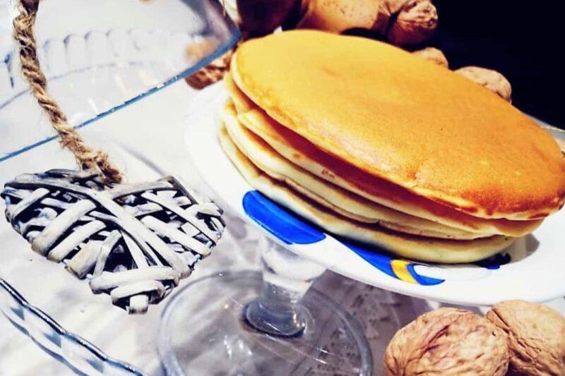 Pancake proteici con farina d'avena