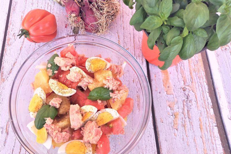 L'insalata mista dell'estate siciliana