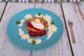 Pancake integrali con crema di fragole