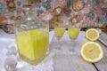 La crema di limoncello con limoni siciliani