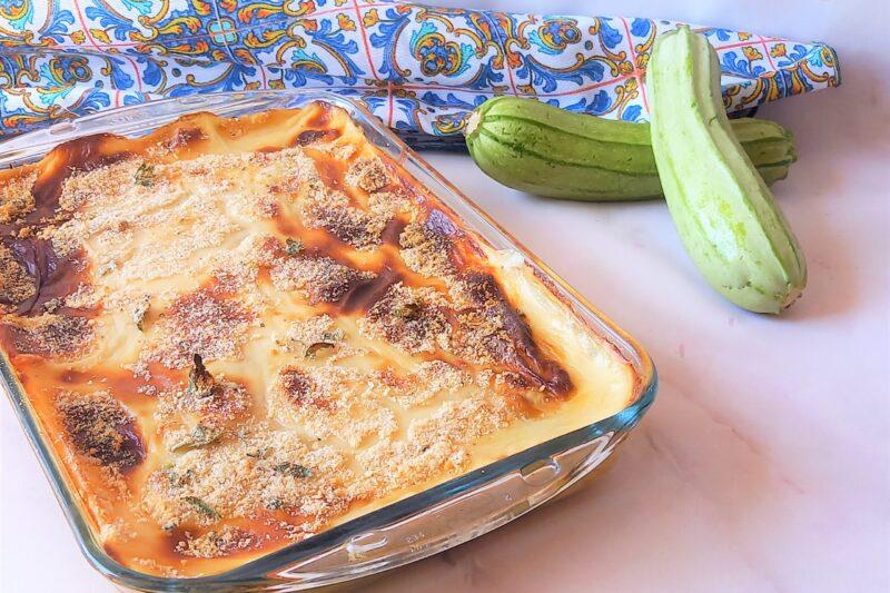 Parmigiana di zucchine con ricetta dietetica