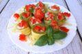 Zucchine con ricotta e fesa di tacchino