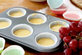 Muffin dietetici senza burro né uova