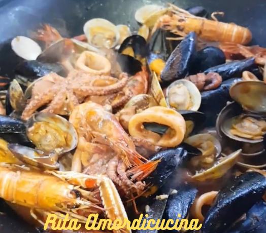 La zuppa di pesce a casa di RitaAmordicucina