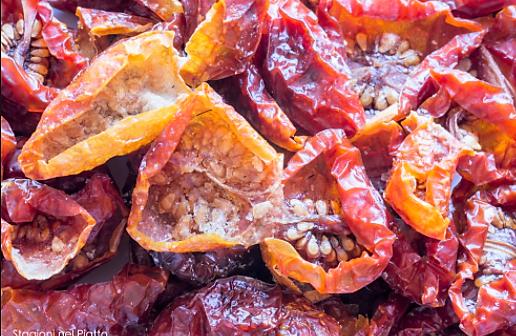 I pomodori Siciliani secchi e sott'olio