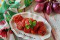 Polpette di melanzane al sugo di pomodoro