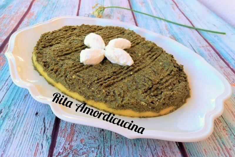 Polenta con broccoli ricetta dietetica