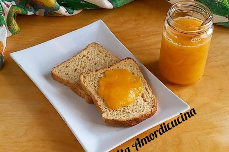 Composta di arance senza zucchero