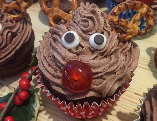 Rudolph Cup Cake