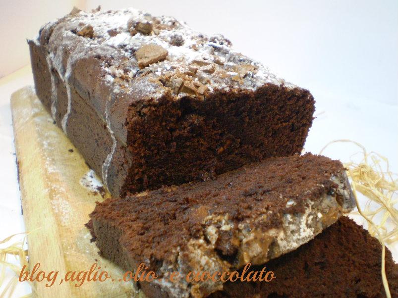 plumcake ai due cioccolati e mascarpone