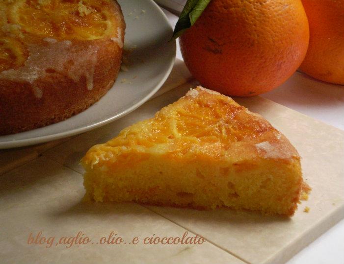 torta arancia e mandarino