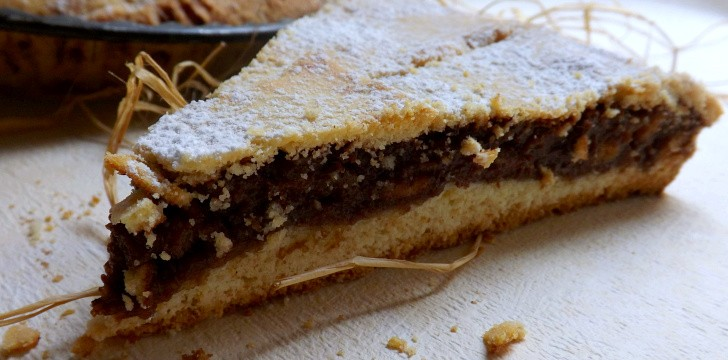 TORTA ALLA NUTELLA  E MASCARPONE