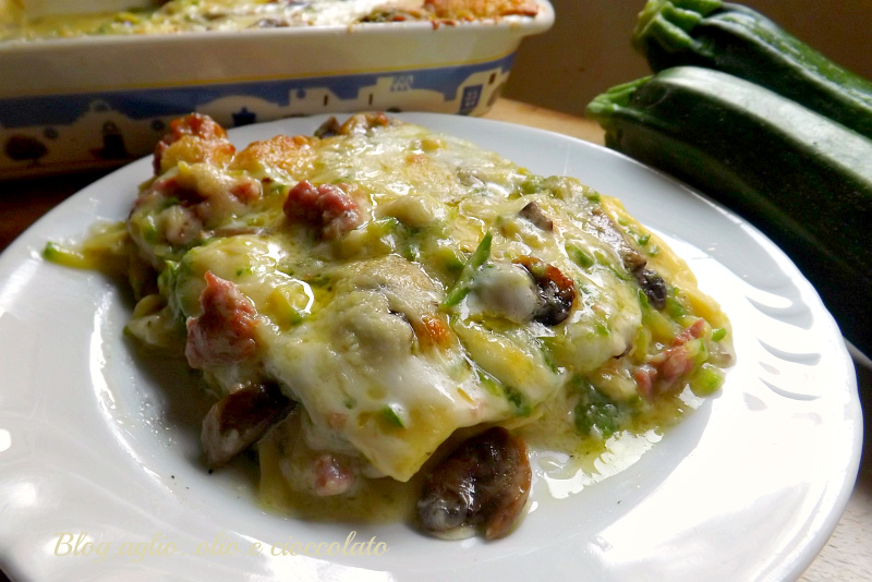 Lasagna con le Zucchine