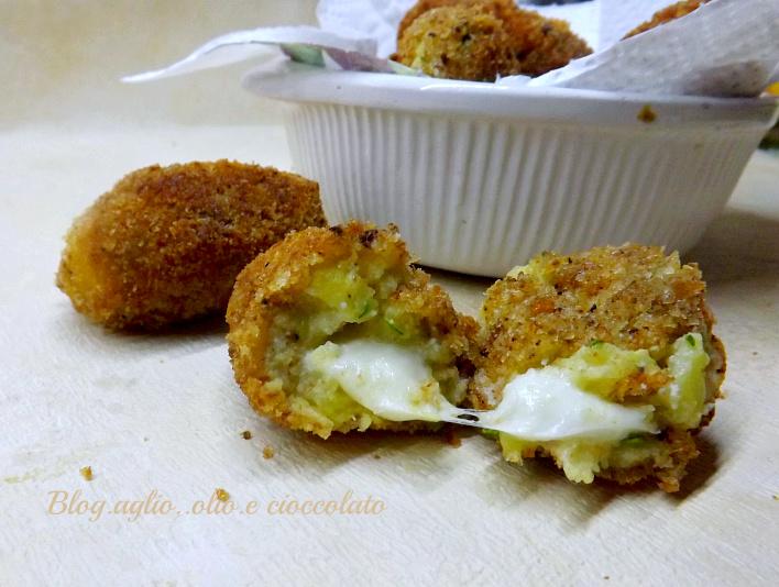 Crocchette Patate Zucchine e Ricotta