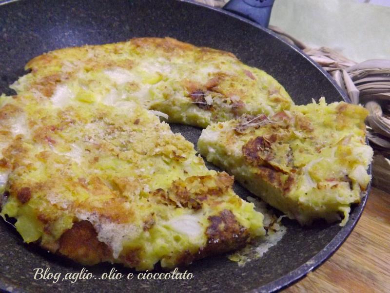 Frittata di Patate e Cavolo Verza