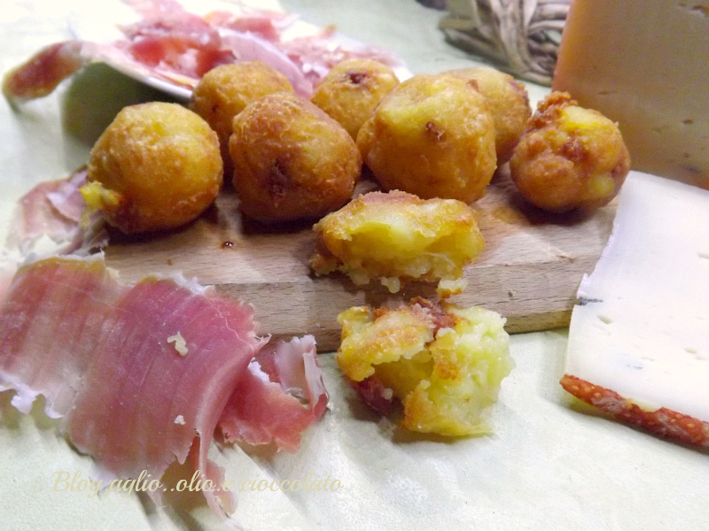 Crocchette Patate Prosciutto e Formaggio