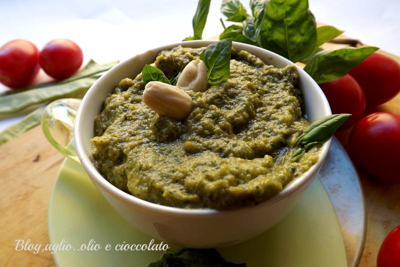 Pesto di Fagiolini a Corallo