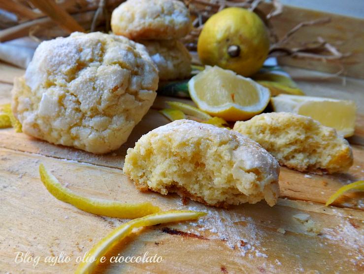 biscotti al limone con le bucce