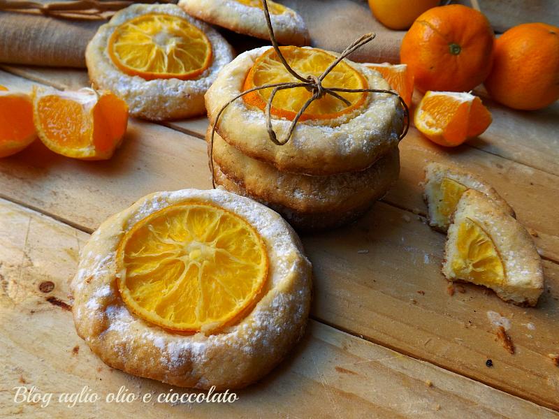 Biscotti rustici alle clementine