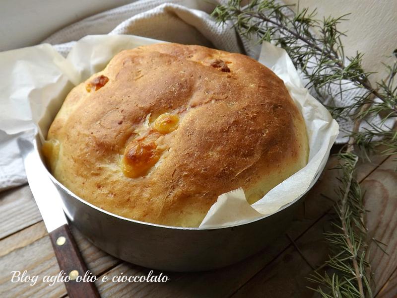 torta al formaggio con prosciutto cotto