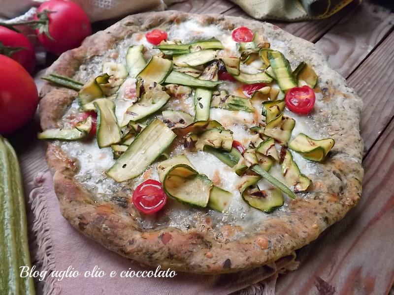 pizza con le verdure 2