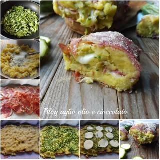 Collage rotolo patate