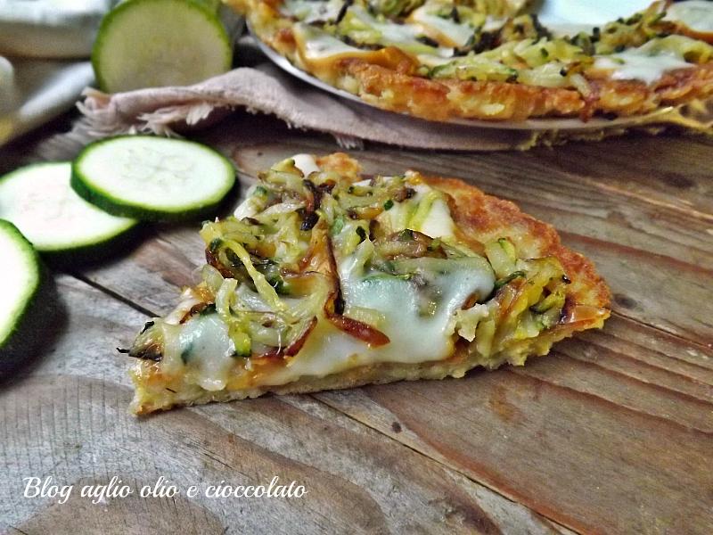 PIZZA PANE ZUCCHINE PATATE E SCAMORZA