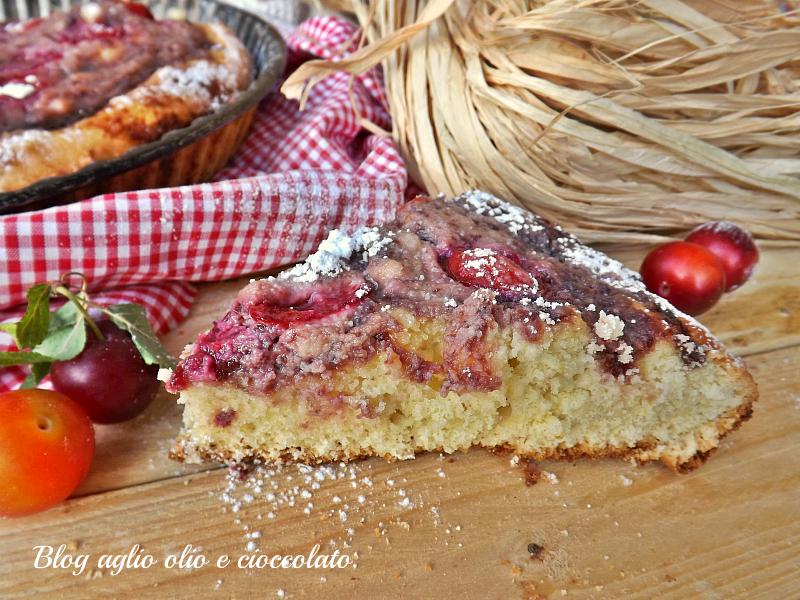 torta morbida ricotta e marmellata
