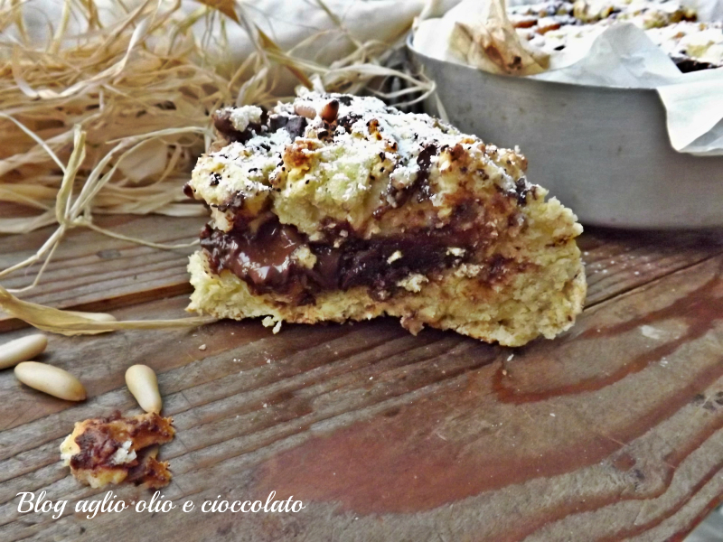 torta rustica patate e cioccolato